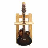 Guitar musical note with stand