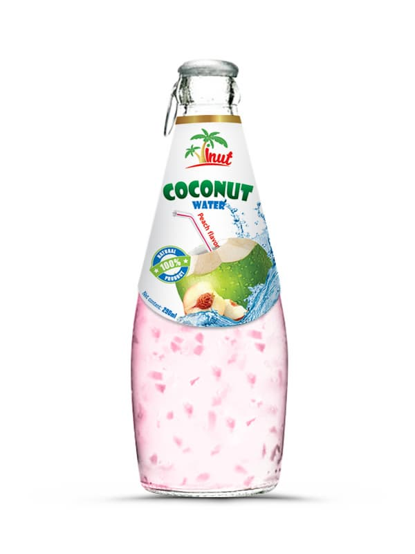 Coconut Water With peach
