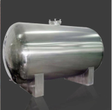 stainless steel storage tank or aluminum tank