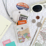 indimap Neck Card Pocket