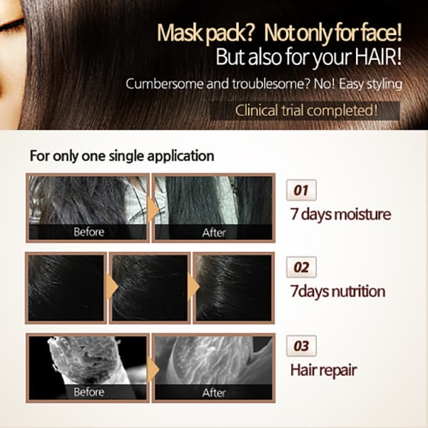 SD HAIR 7days steam hair pack