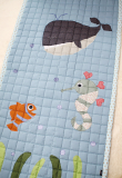 under the sea baby mat