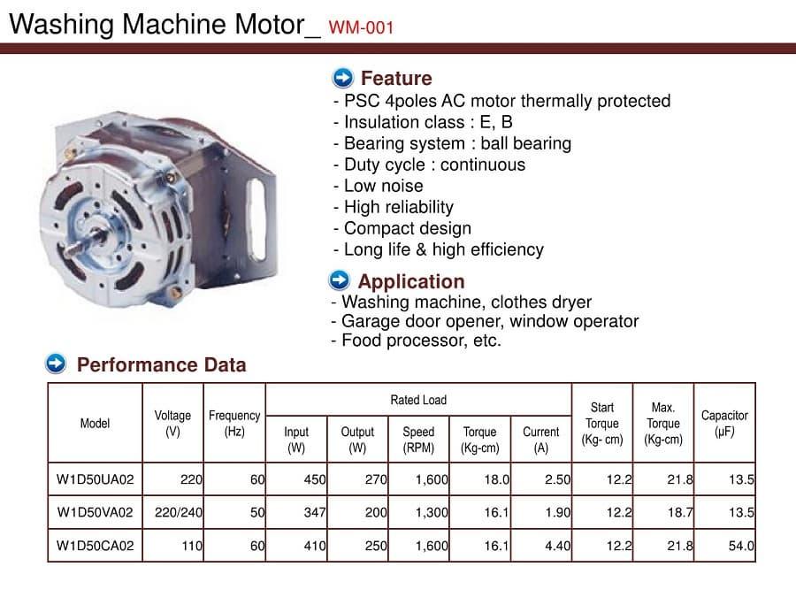 Washing Machine Motor From Barotec B2b Marketplace Portal