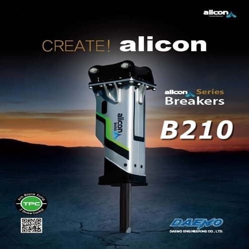 Hydraulic Breaker DAEMO Alicon B210