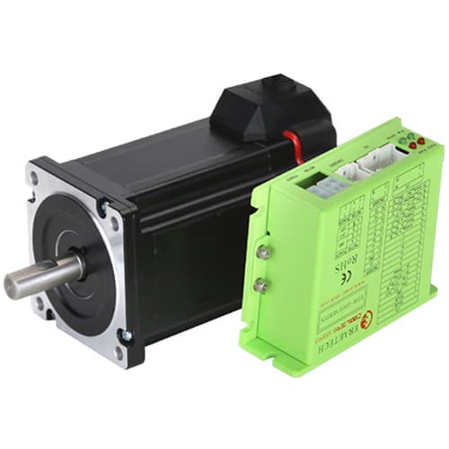 closed loop stepper motor integrated driver and controller
