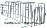 Gestation stall with special back door which is convenient for artificial insemination