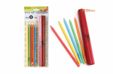zebra paper color pencil 5 pcs tube set