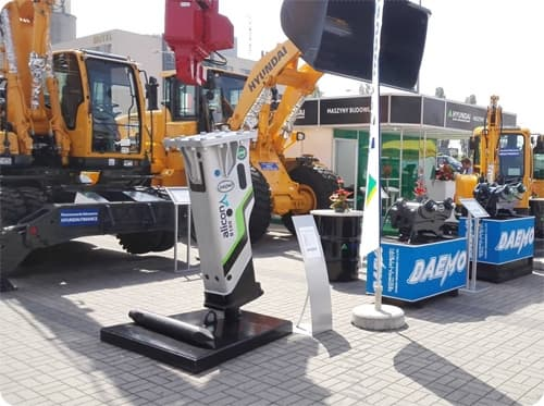 Hydraulic Breaker DAEMO Alicon B180