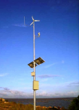 Wind and Solar Hybrid CCTV -Closed Circuit Television-