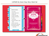 Rainbow  L_affair 7day Diary facial Mask Pack Set