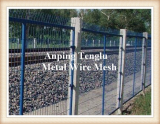 Railway Fence_Train Fencing_Metal Rail Fence