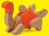 Wood Transformers- Dino set