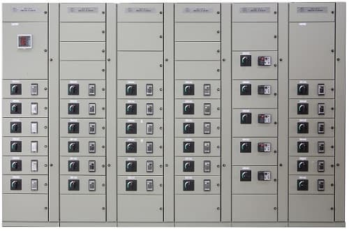 Mcc motor control center citzrotech metal clad for Low voltage motor control center