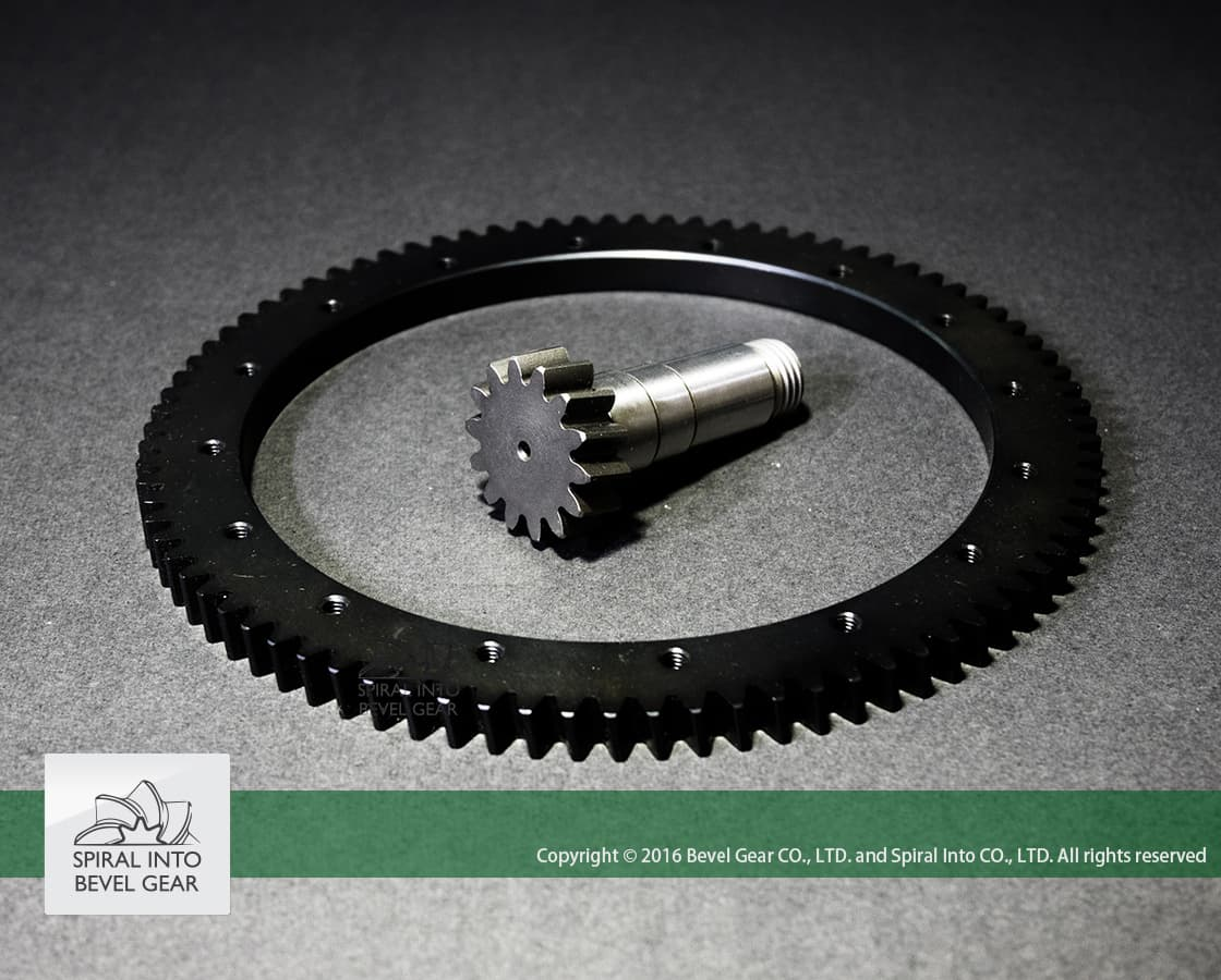 machine tool and gear