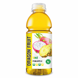 525ml Bottle Dragon Fruit Juice with Pineapple Drink