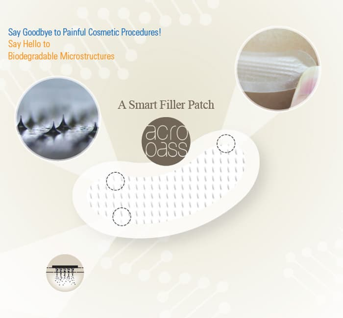 Smart Filler Patch for Eye Wrinkle