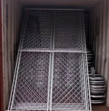 Chain Wire Fencing zinc alloy_zinc coated