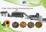 Fried Flour Snacks Food Processing Machine