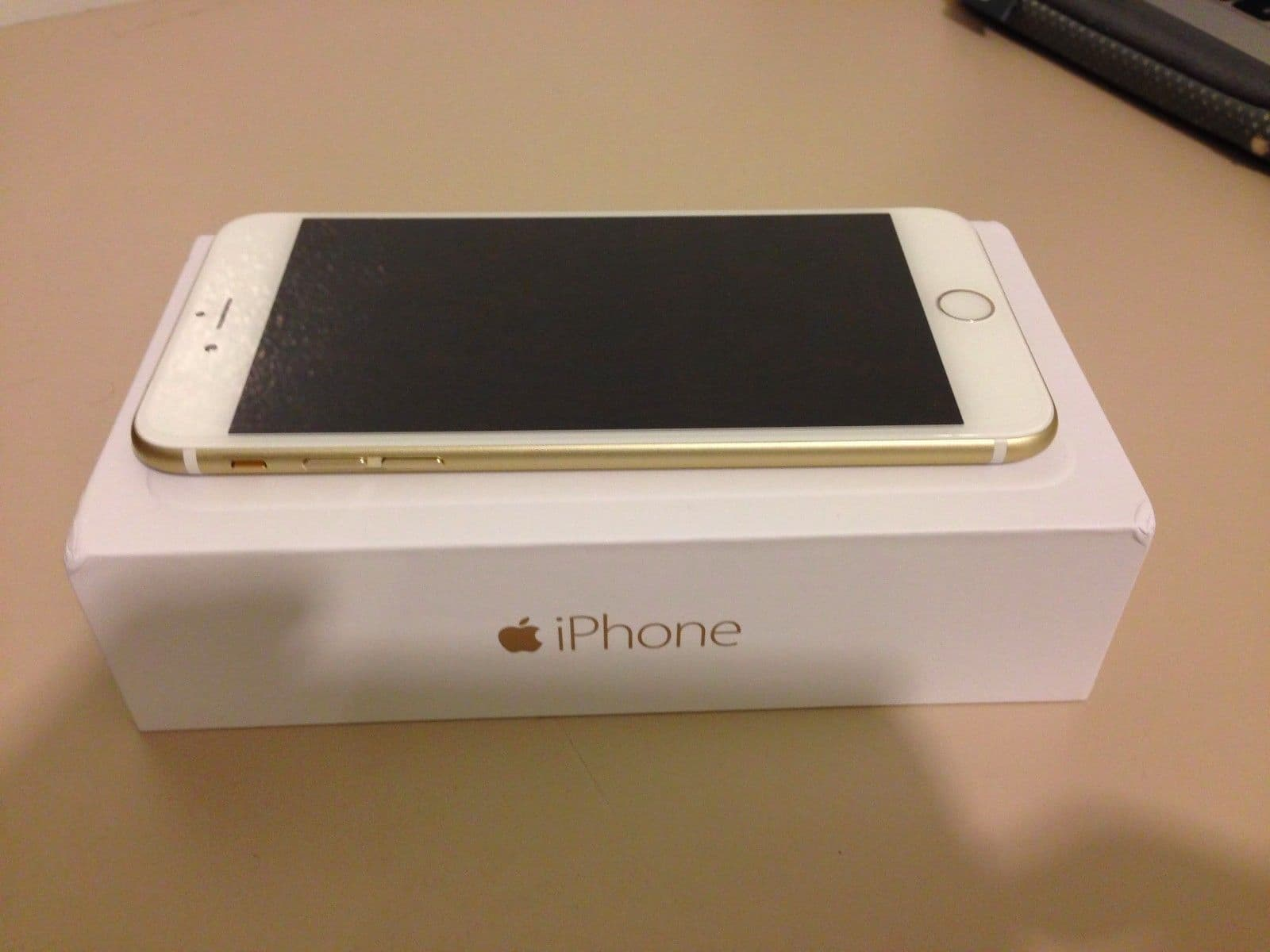 apple iphone 6 plus 5 5 128gb gold unlocked from cv buat. Black Bedroom Furniture Sets. Home Design Ideas