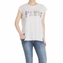 Cotton women and Needlework Paris short sleeve T_shirts