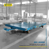 Manual Operated Industrial Flatbed Custom Transfer Trailer with Rings
