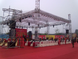 outdoor concert stage roof truss structure