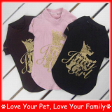 leisure pet shirts, latest dog summer clothes, fashion doggie garment