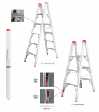 Aluminum folding ladder 5 rungs New Product