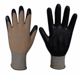 Natural Grip100 Corn_NBR Foam coating gloves