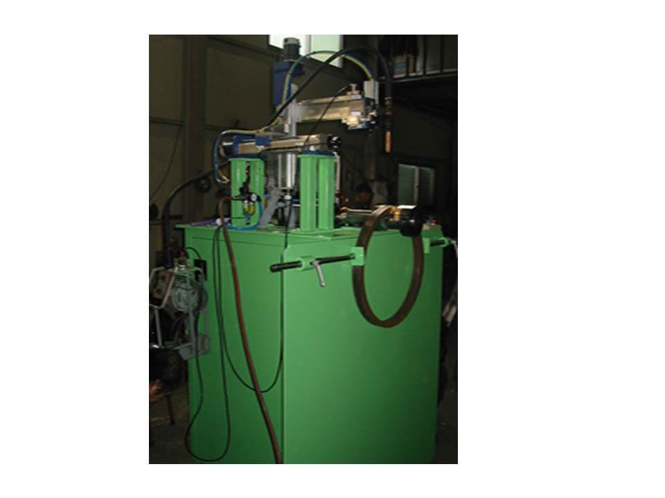 Automated Welding Machine for Metal Ring
