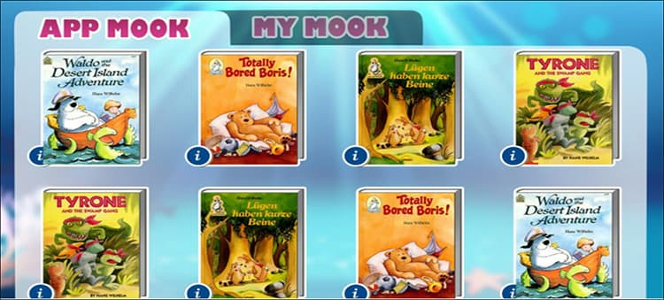 Children-s book self-reading Application