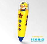 Iconix Entertainment PORORO Tick-Tock Pen NSP-C140