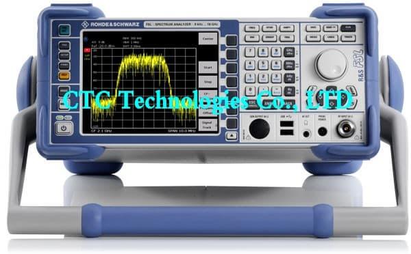 Network Analyzer Testing Radar Gun : Spectrum analyzer r s fsl from ctc technologies co ltd