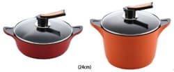 Ceramic coated Aluminum Die casting cookware JM_0302010801