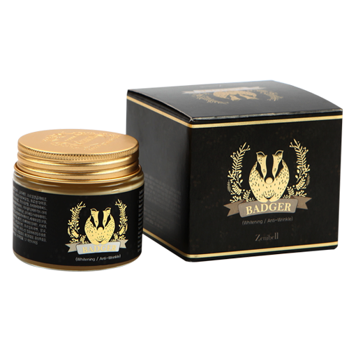 Zenibell Black Badger Cream_ Facial Cream_ Cosmetic_ Beauty