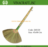 Durable grass broom from manfacturer