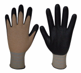 Natural Grip300 Corn_NBR Embossing coating gloves