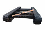 Agriculture Rubber track undercarriage