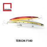 140mm Floating Artificial Hard Bait Fishing Lure (Terion F140)