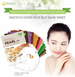 _AMICELL_ skin care Pascucci Good Good Face Eco Mask Sheet