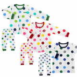 _bigdot_ double layer long sleeves pajama set