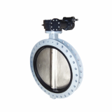 U_Section Gearbox Butterfly Valve