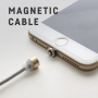 Magnetic Quick Lightning USB Data Sync and Charger Cable