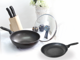Nonstic Marble_coating frypan_frying pan__wok