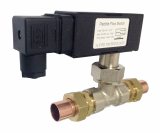 GE_315WD Red Copper Pipe Inline Flow Switches