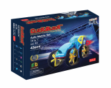Click Block_ Magnet educational toy 2D Automobile Set