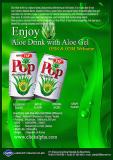 Aloe Drink with Aloe Vera Gel 240ml (4Flavors)