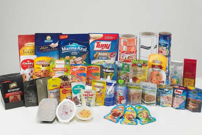 Flexible packaging materials-Retortable pouch