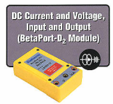 DC Current and Voltage, Input and Output