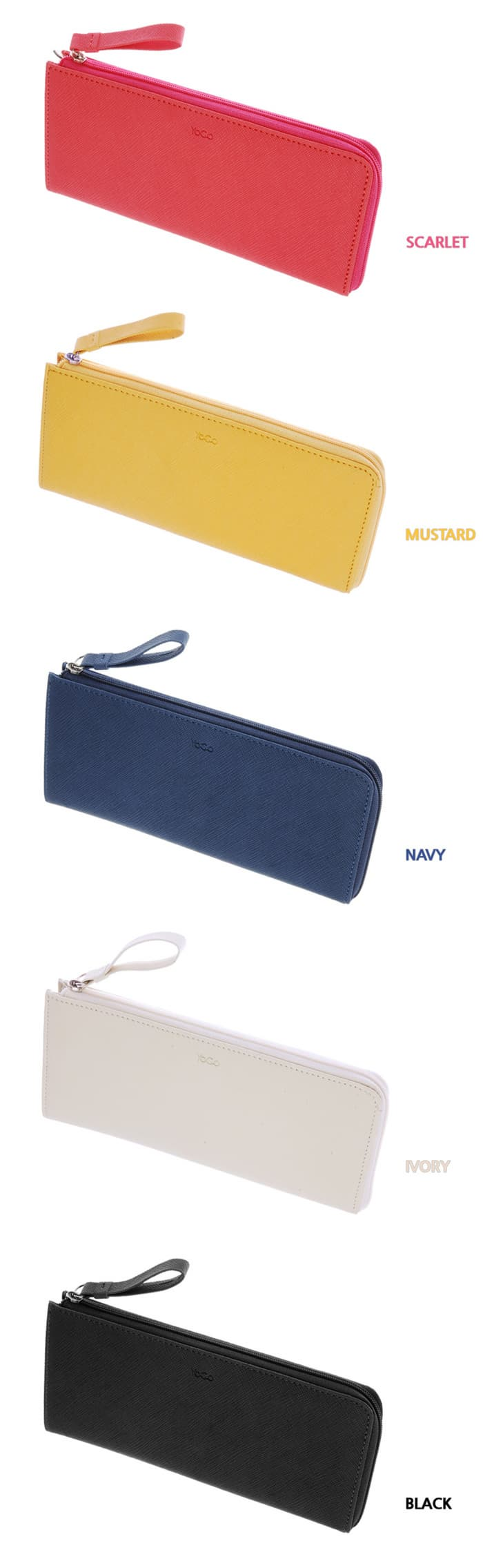 YOGO Zipper Wallet Large -NYG 06-